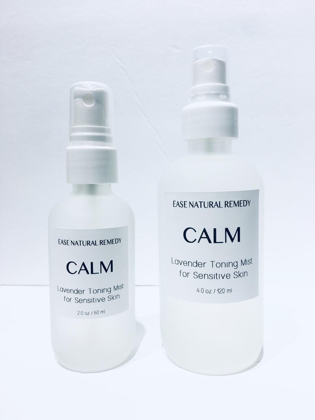 CALM - Organic Lavender hydrosol Toning mist for Sensitive Skin (Acne, Inflamed, Irritated Skin)