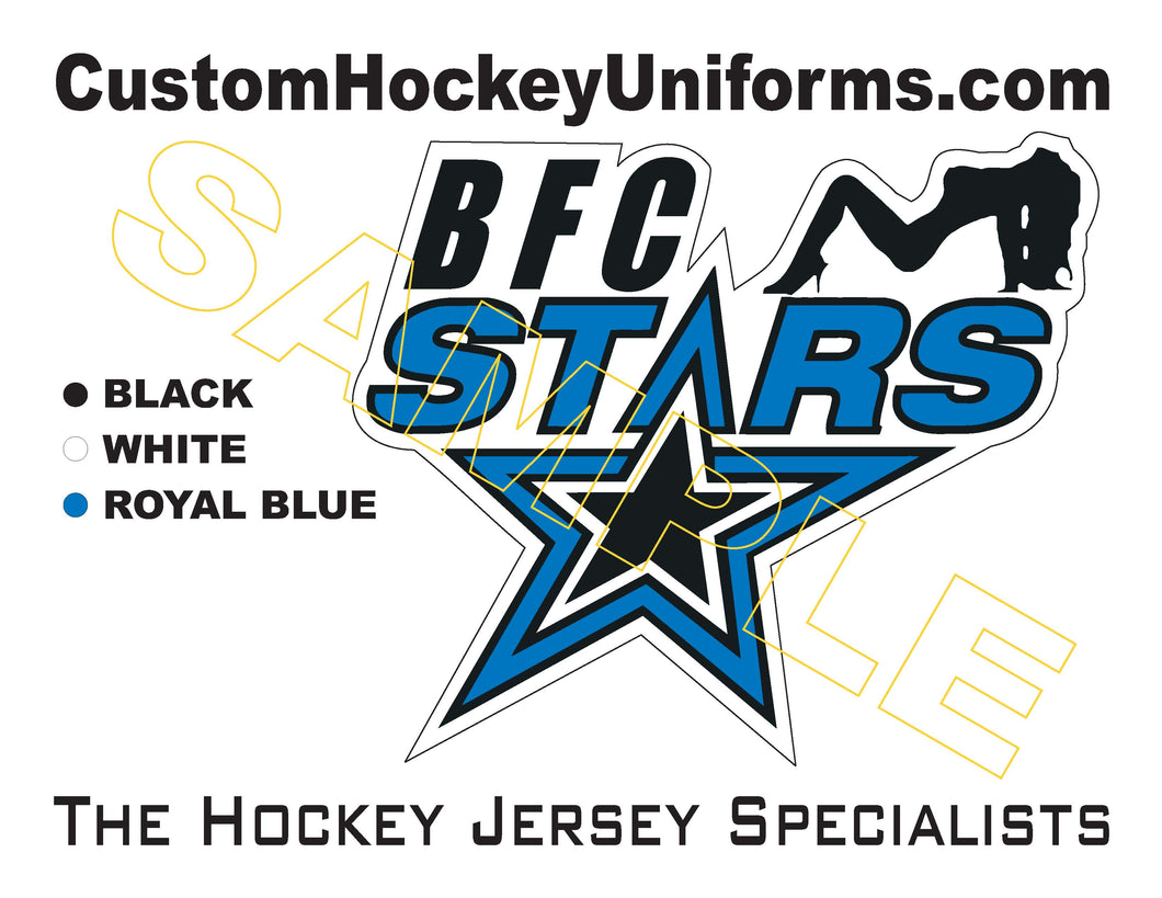 BFC Stars Logo Patch Sold Separately (ZTTFF)