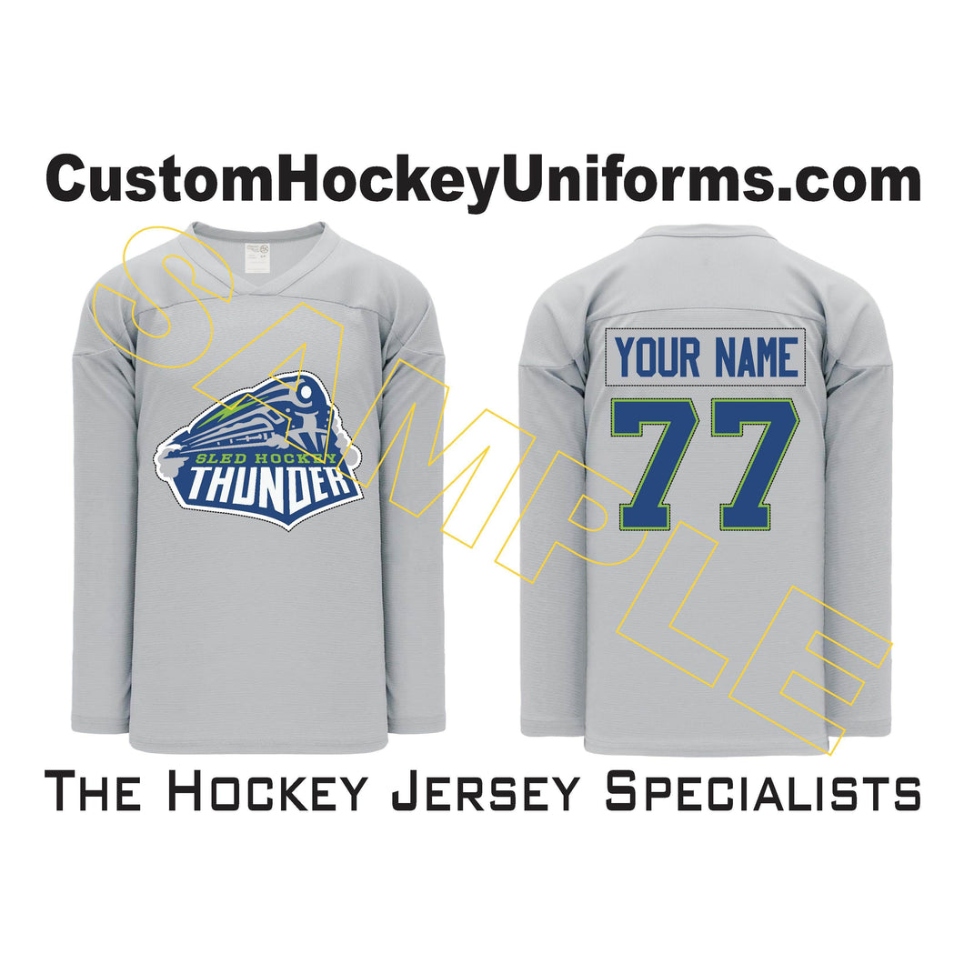Sled Hockey Thunder Grey (H6000-012)