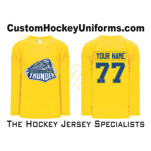 Sled Hockey Thunder Maize (H6000-055)