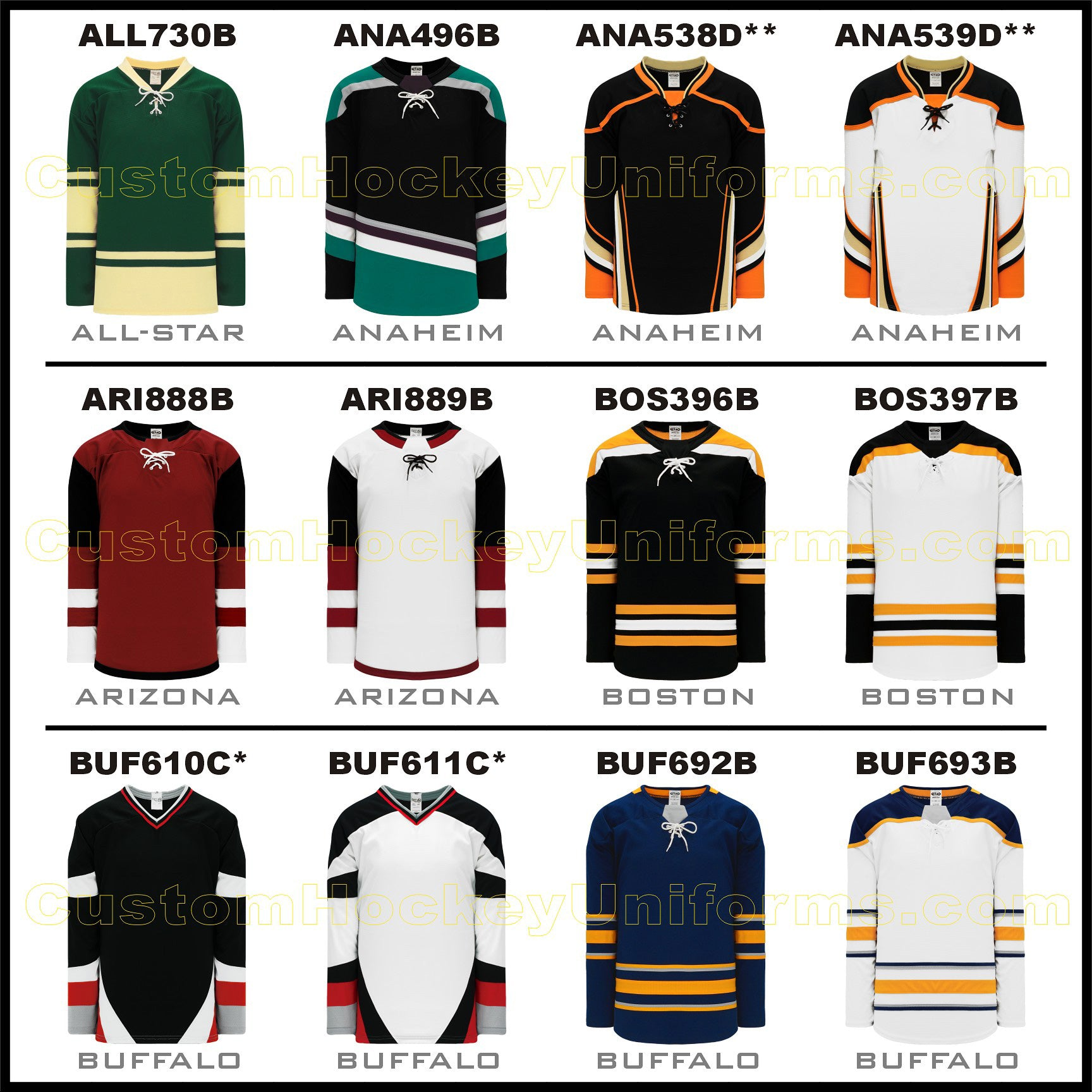 popular hockey jerseys