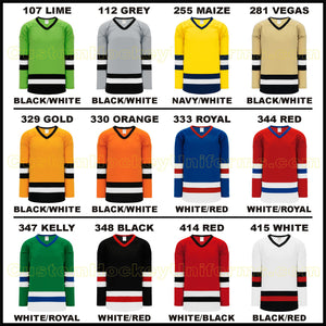 H6500 Midweight League Style Custom Hockey Jerseys Page 1