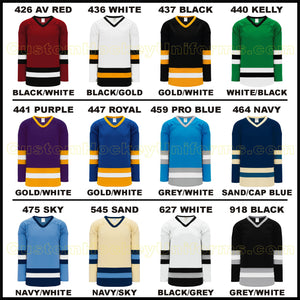 H6500 Midweight League Style Custom Hockey Jerseys Page 2