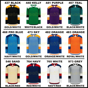 H7400 Heavyweight League Style Custom Hockey Jerseys Page 2