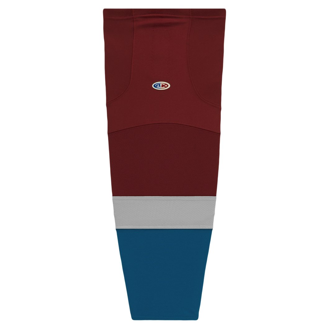 HS2100-804 Colorado Avalanche Hockey Socks