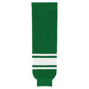 HS630-210 Kelly/White Hockey Socks