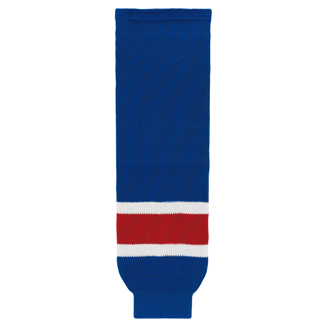 HS630-812 New York Rangers Hockey Socks