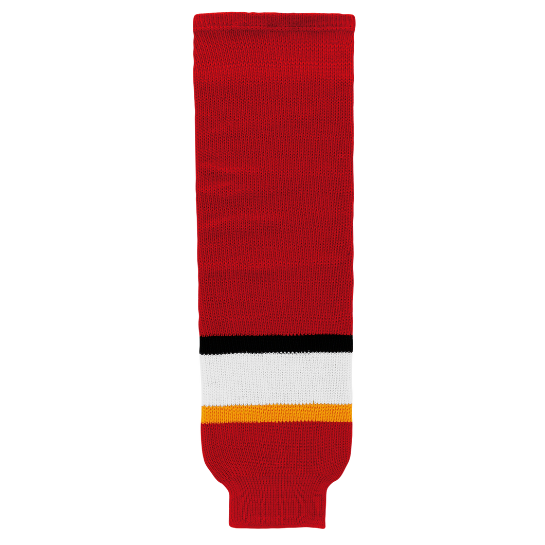 HS630-883 Calgary Flames Hockey Socks