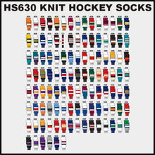 HS630 Knitted Style Ice Hockey Socks Page 2