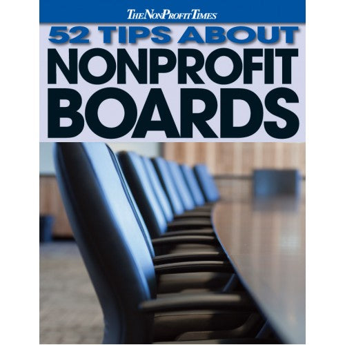 52 Tips About Nonprofit Boards