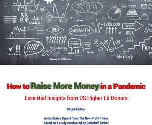 How to Raise More Money in a Pandemic  (Detail Report - 84pp)