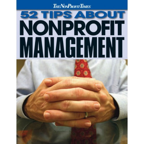 52 Tips About Nonprofit Management