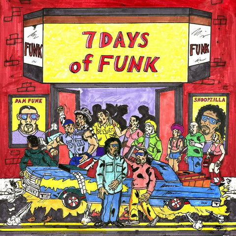 7 Days Of Funk - 7 Days Of Funk LP (+download)