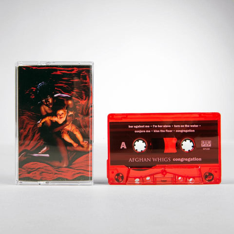 Afghan Whigs, The - Congregation Cassette (red) - MUSIC SAVES