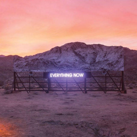 Arcade Fire - Everything Now b/w Everything Now Instrumental LIMITED 12-inch (180 gram, orange) - MUSIC SAVES