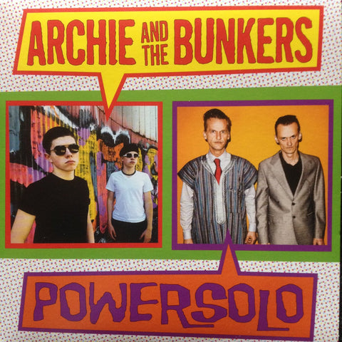 Archie And The Bunkers/PowerSolo - The Roaring 20s b/w Fuzz Face 7-inch - MUSIC SAVES