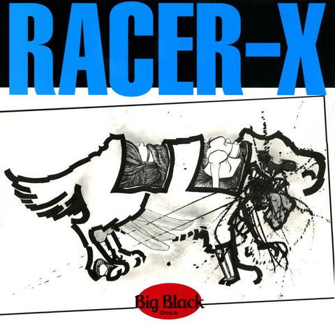 Big Black - Racer-X LIMITED LP (reissue +download) - MUSIC SAVES