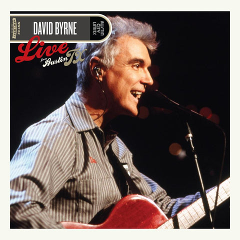 Byrne, David - Live From Austin TX 2LP (+download) - MUSIC SAVES