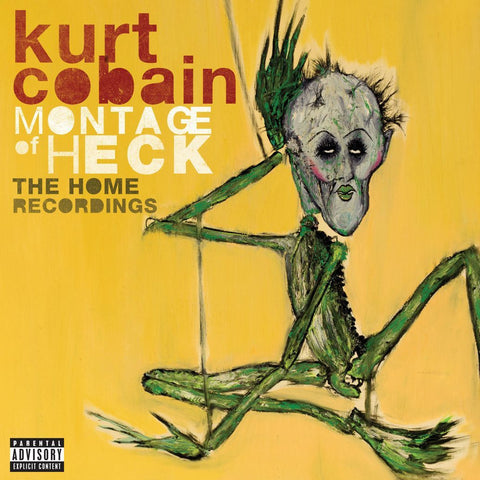 Cobain, Kurt - Montage Of Heck: The Home Recordings 2LP (+download)