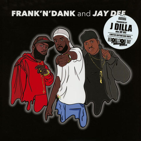 Frank'N'Dank And Jay Dee EP LIMITED 12-inch (red) - MUSIC SAVES