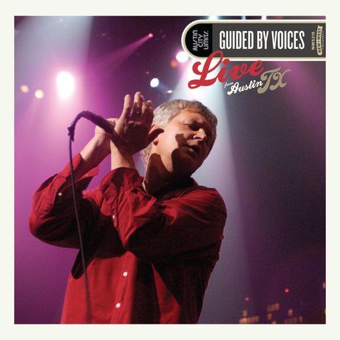 Guided By Voices - Live From Austin TX 2CD+DVD - MUSIC SAVES