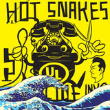 Hot Snakes - Suicide Invoice LIMITED LP (yellow +download, stickers) - MUSIC SAVES