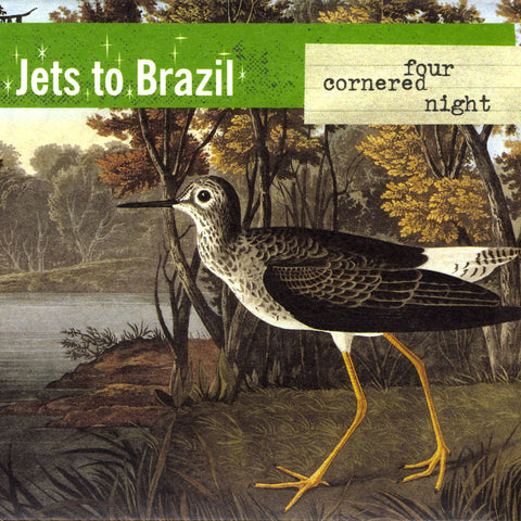 Jets To Brazil - Four Cornered Night LIMITED 2LP (clear reissue)