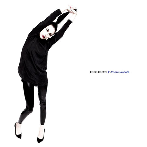 Kristin Kontrol - X-Communicate LIMITED LP (blue +download)