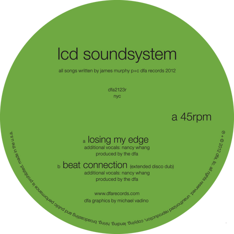 LCD Soundsystem - Losing My Edge b/w Beat Connection 12-inch