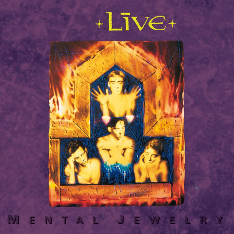 Live - Mental Jewelry LP - MUSIC SAVES