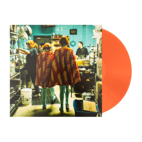 Lucius - Pulling Teeth LIMITED 10-inch (orange +download, etching) - MUSIC SAVES