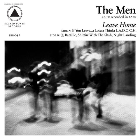 Men, The - Leave Home LIMITED LP (clear)