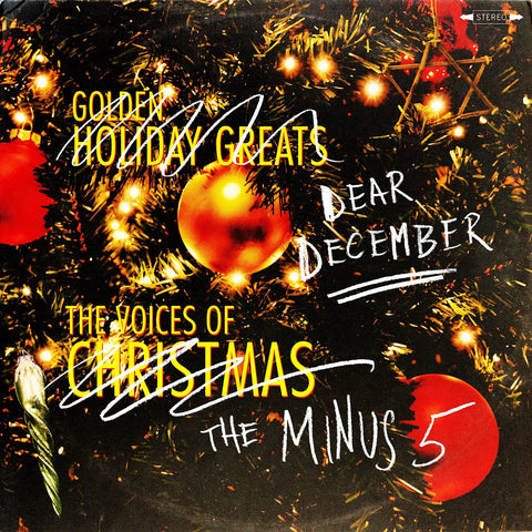 Minus 5, The - Dear December LIMITED LP (white +download, cutouts) - MUSIC SAVES