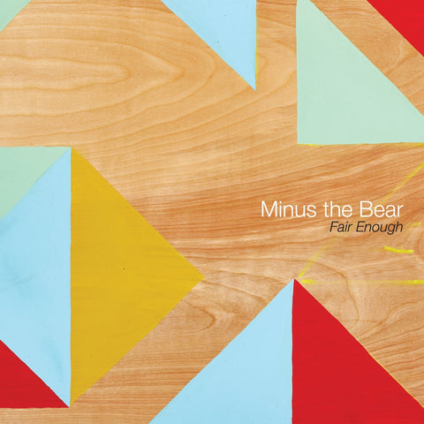 Minus The Bear - Fair Enough 12-inch ep (baby pink +download)