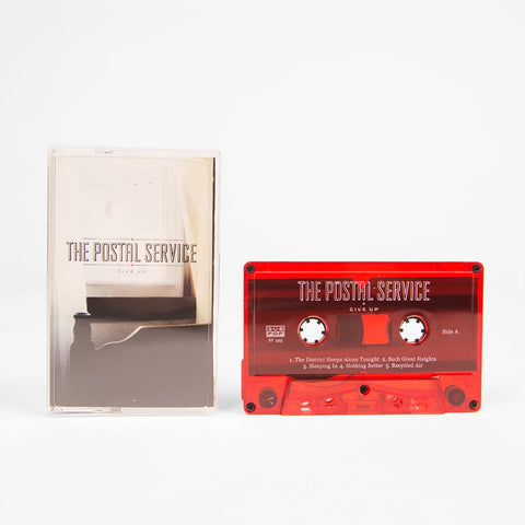 Postal Service, The - Give Up Cassette (red)