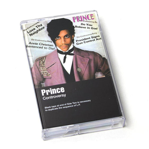Prince - Controversy Cassette - MUSIC SAVES