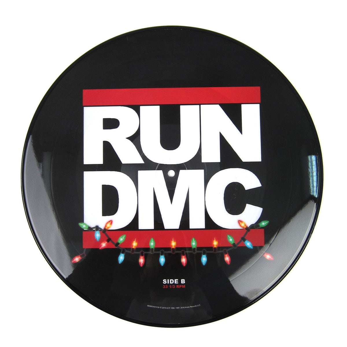 Run Dmc Christmas.Run Dmc Christmas In Hollis Peter Piper Limited 12 Inch Picture Disc
