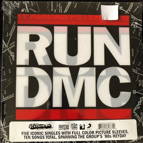 RUN DMC - The Singles Collection LIMITED 5x7-inch
