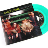 Raconteurs, The - Steady As She Goes b/w Store Bought Bones LIMITED 7-inch (emerald green +sticker)