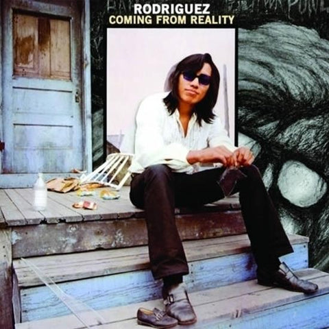Rodriguez - Coming From Reality LP (photos, die-cut jacket)