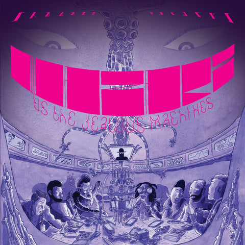 Shabazz Palaces - Quazarz vs. The Jealous Machines LIMITED LP (purple/blue +download)