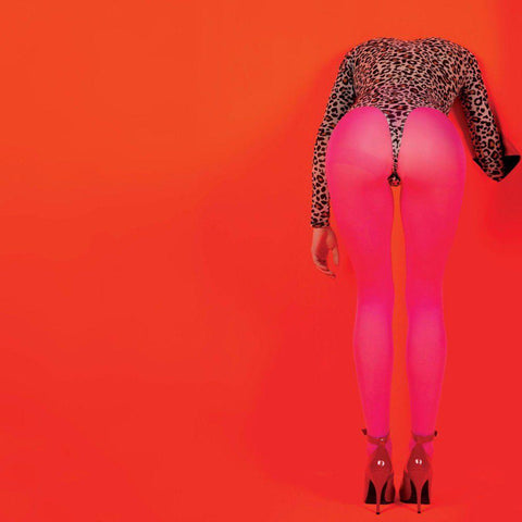 St. Vincent - MASSEDUCTION LP (pink +poster) - MUSIC SAVES