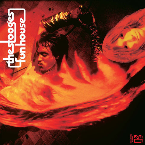 Stooges, The - Fun house LIMITED LP  (orange/black swirl, reissue) - MUSIC SAVES
