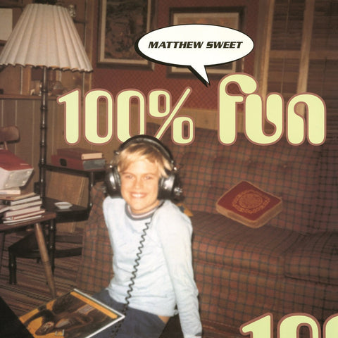 Sweet, Matthew - 100% Fun 2LP (reissue +bonus tracks)