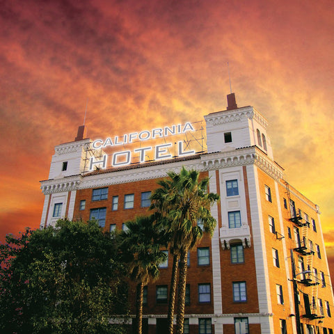 Trans Am - California Hotel LIMITED LP (orange +download) - MUSIC SAVES