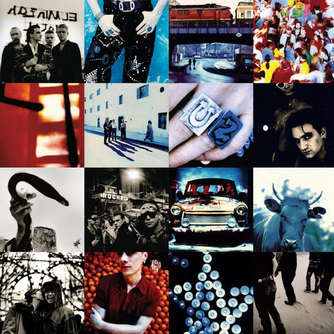 U2 - Achtung Baby IMPORT 2LP (reissue +download)