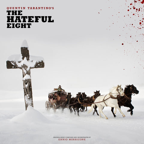 Various - Quentin Tarantino's The Hateful Eight: Original Music Composed And Orchestrated By Ennio Morricone 2LP (+posters, booklet)