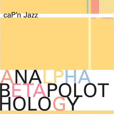 caP'n Jazz - ANALPHABETAPOLOTHOLOGY 2LP (180 gram reissue) - MUSIC SAVES