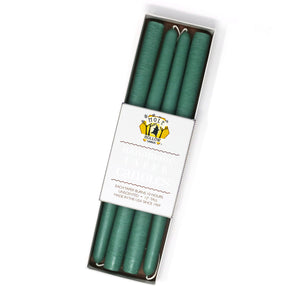 "12"" Dripless Taper Candles - Sea Green Set of 4"