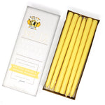 "12"" Beeswax Taper Candles, Set of 12"